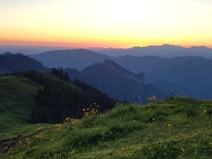 Sonnenaufgangswanderung Riedberger Horn @ Grasgehren, Riedbergpass, Balderschwang