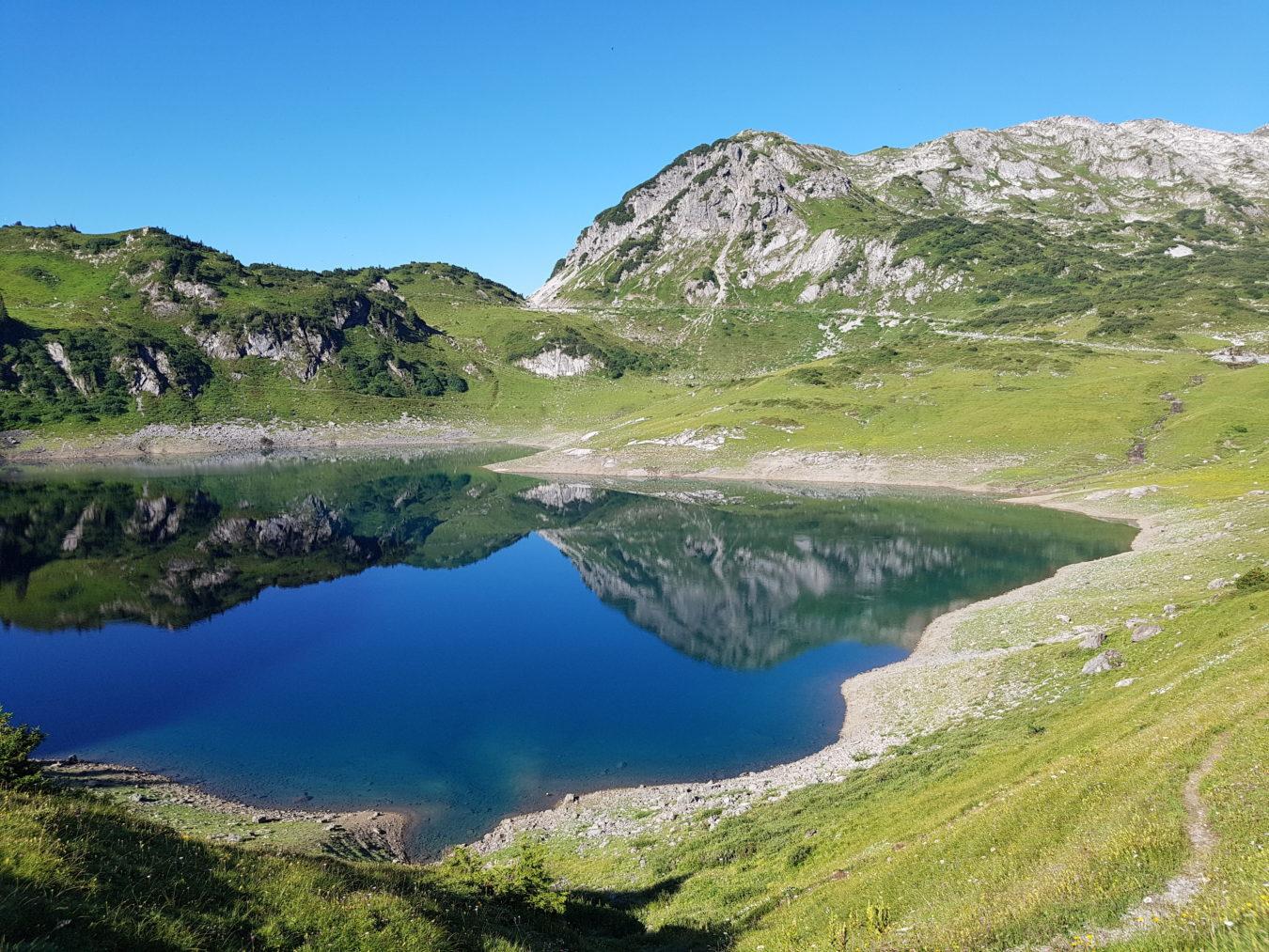 Bergsteigen und Wandern im Lechquell
