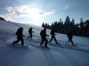 Vollmond Schneeschuhwanderung @ Bödele