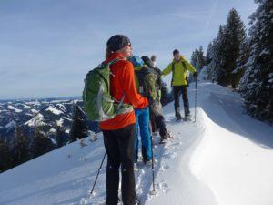 Schneeschuh-Wandertage mit Berggasthof-Übernachtung @ Nagefluhkette