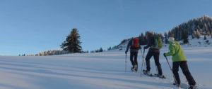 Vorweihnachtliches Wintermärchen - Schneeschuhwandern und feiern @ Damüls