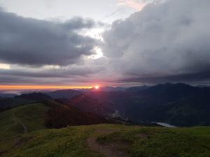 Sonnenaufgangswanderung zum Riedberger Horn @ Grasgehren - Rieberger Horn