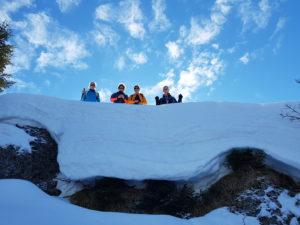 Tages-Schneeschuhwanderung @ Bezau Sonderdach Niedere