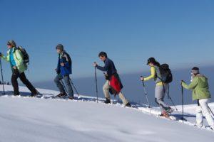 Schneeschuh Wander-Wochenende mit Übernachtungen im Berggasthof @ Großraum Bregenzerwald